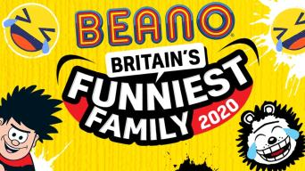 Britain's Funniest Family logo