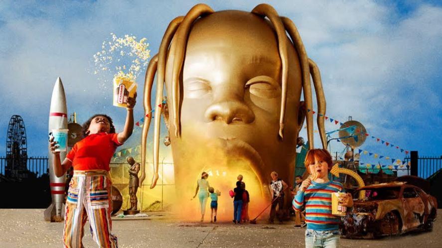 Travis Scott's third album cover artwork