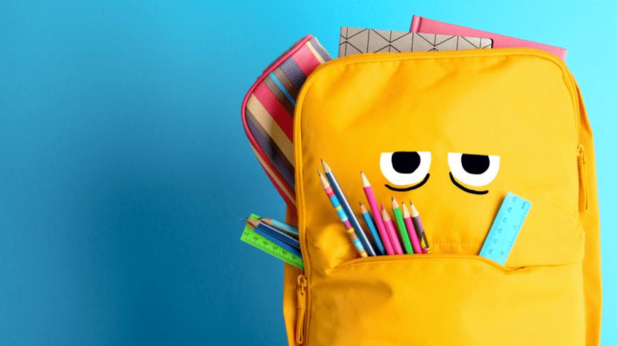 A grumpy backpack