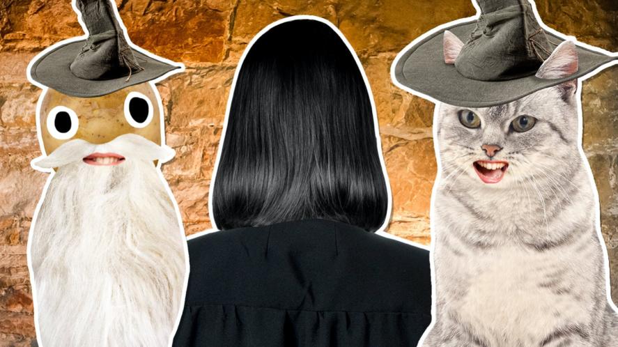Dumbledore, Snape and McGonagall