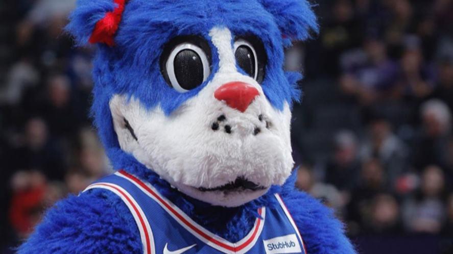 76ers mascot