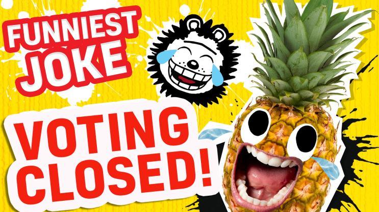 Britain's Funniest Joke - Voting Closed!
