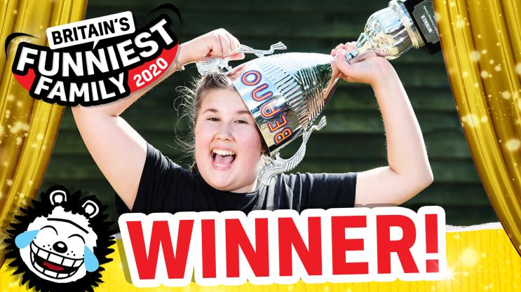 Britain's Funniest Family - Meet the Winners!