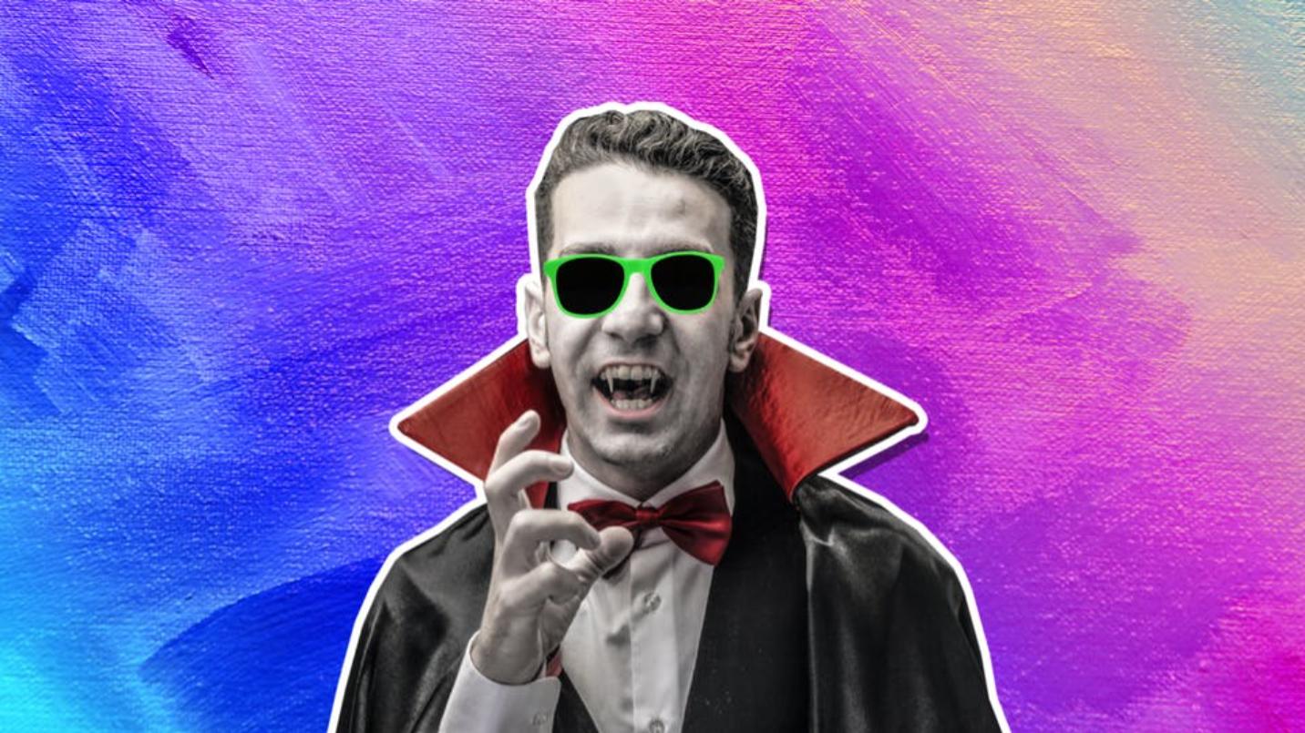 A cool vampire
