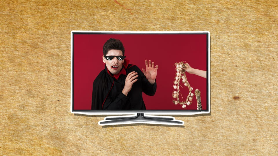 Dracula on TV