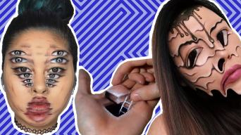 These Awesome Make-up Optical Illusions Will Blow Your Mind!