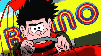 Inside Beano no. 4041 - On your marks, get set... Race!