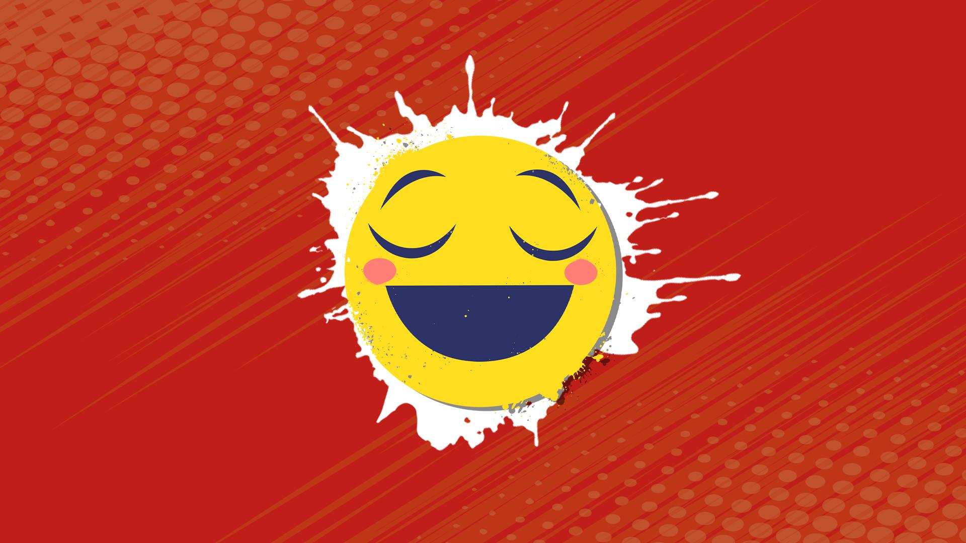 A smiley face