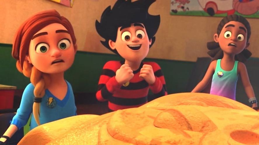 A scene from Dennis & Gnasher: Unleashed!