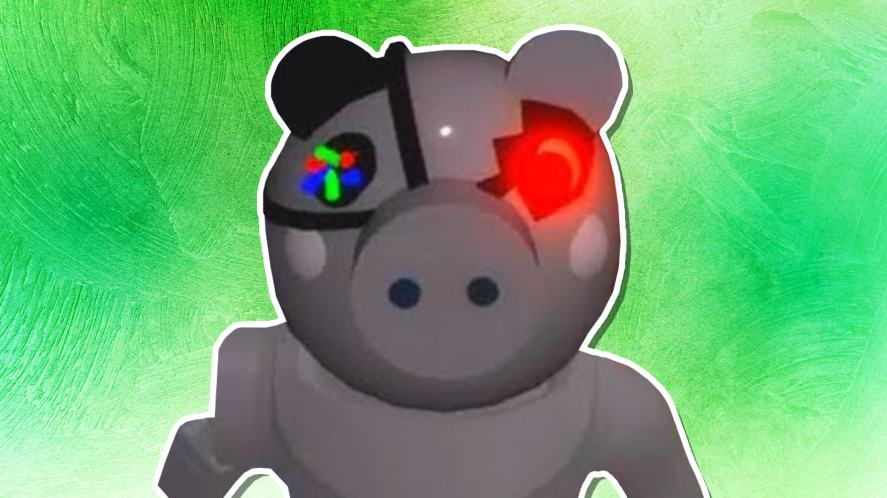A robotic pig