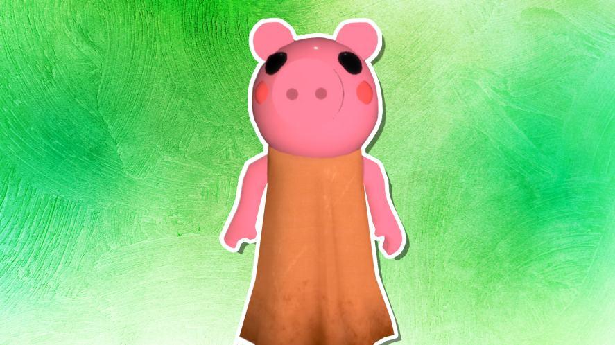 A Piggy character
