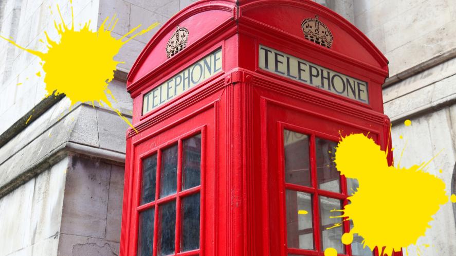 British phonebox