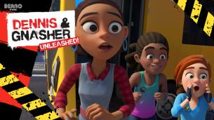 Dennis & Gnasher Unleashed! Series 2 - Episode 1: Beat the Bus