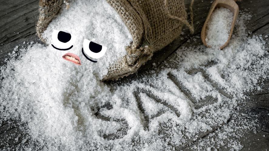 A sack of salt