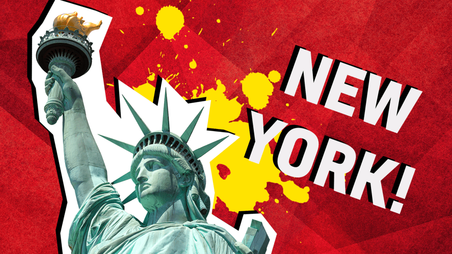 New York result
