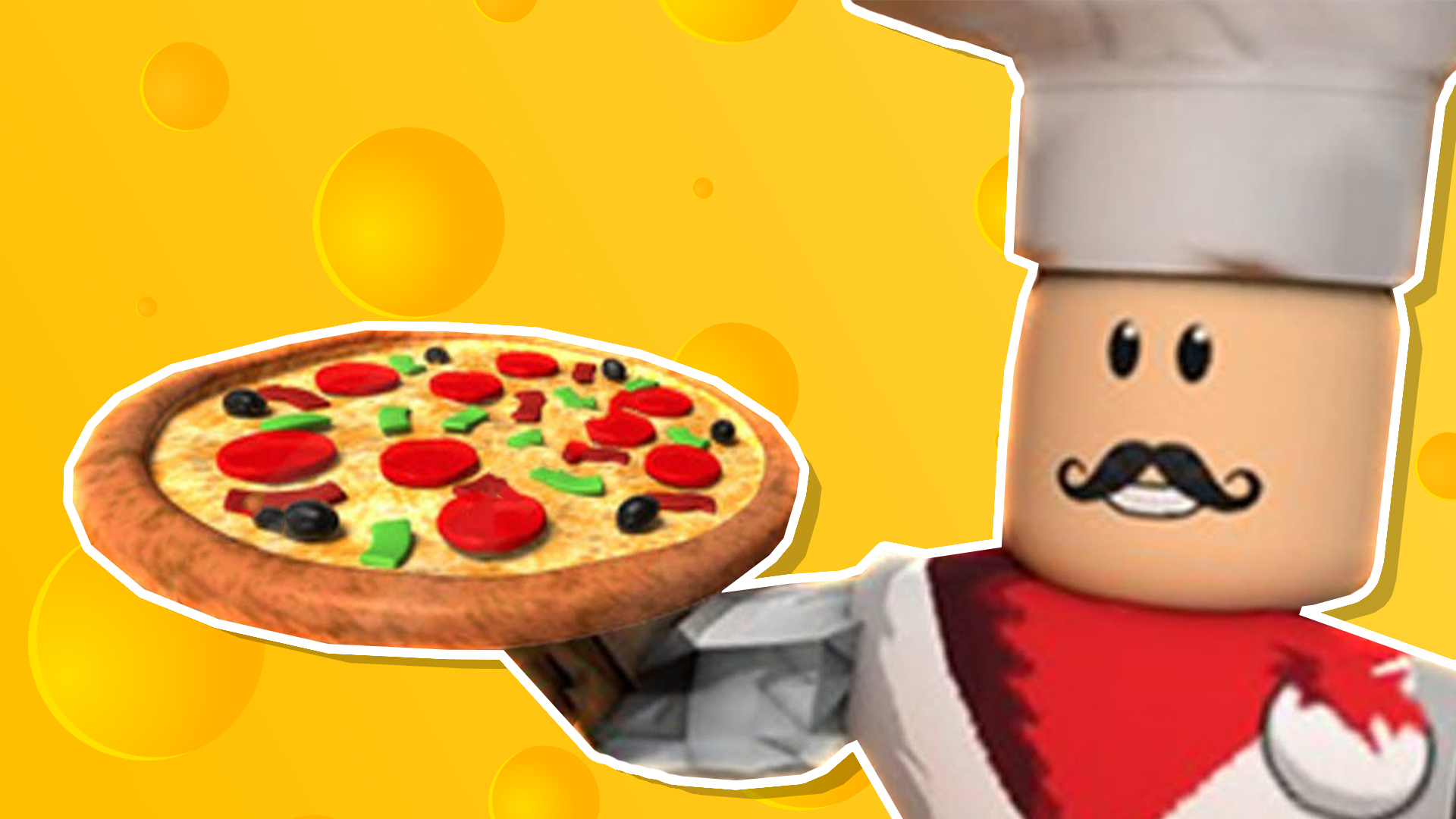 A pizza-themed joke