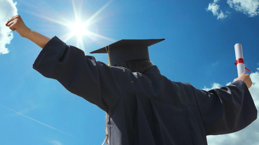 A college graduate
