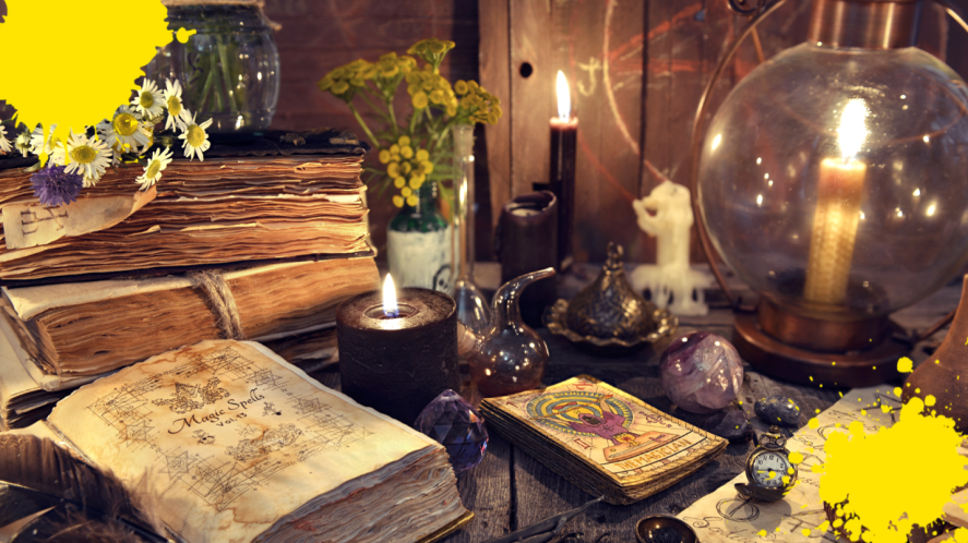 Witches' objects
