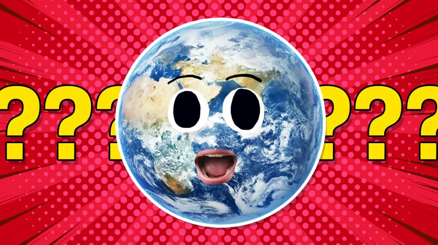 A surprised earth