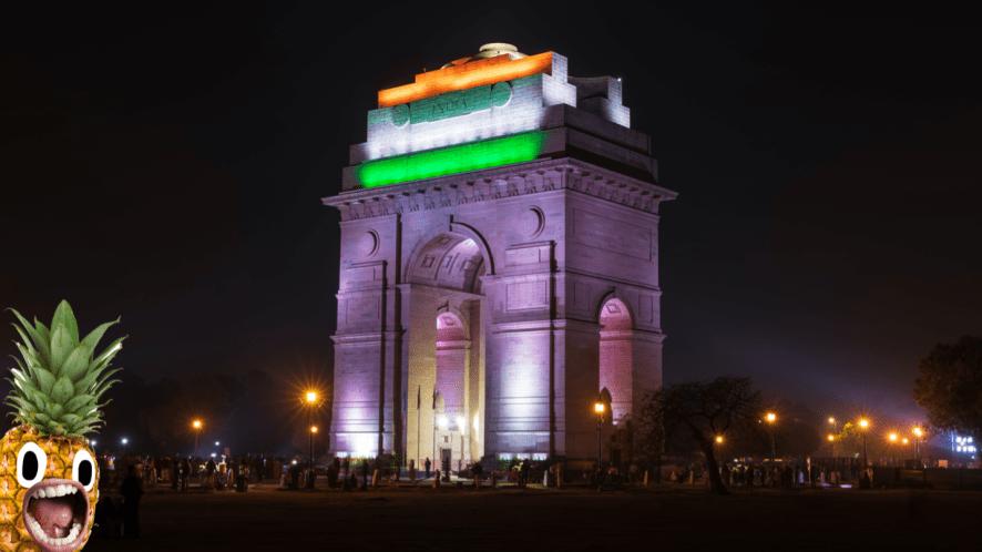 India Gate in New Dehli