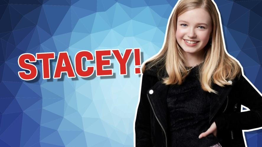 Stacey from The Baby Sitters Club