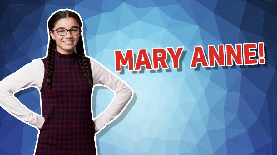 Mary Anne from The Baby Sitters Club