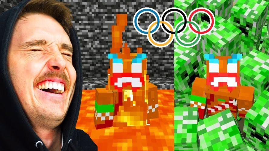 LazarBeam in The Minecraft Meme Olympics