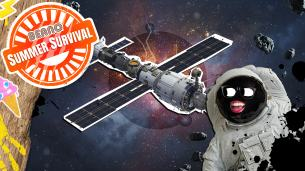 Summer Survival: Make a Space Station at Home