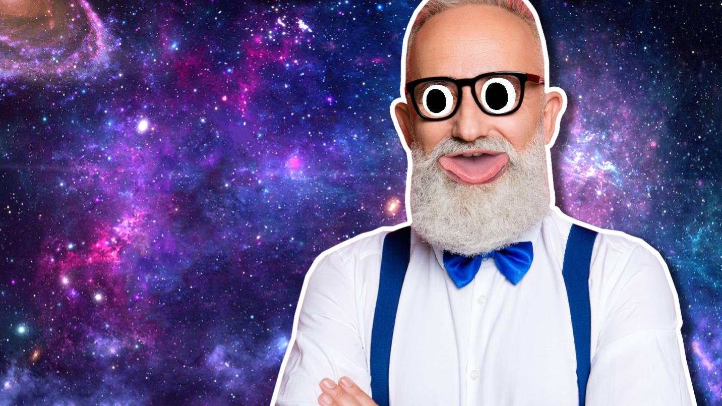 An elderly man in a bow tie