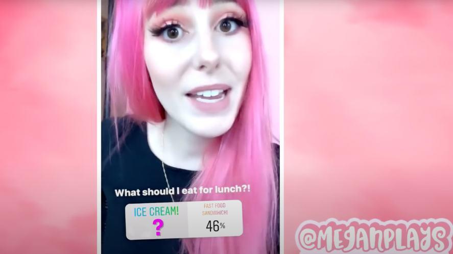 MeganPlays fans vote for lunch
