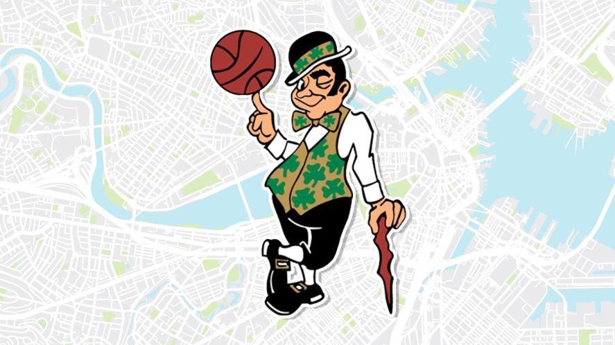 Boston Celtics mascot