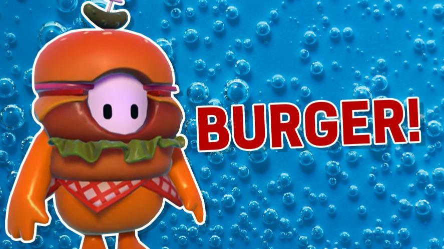 Burger Fall Guys Skin