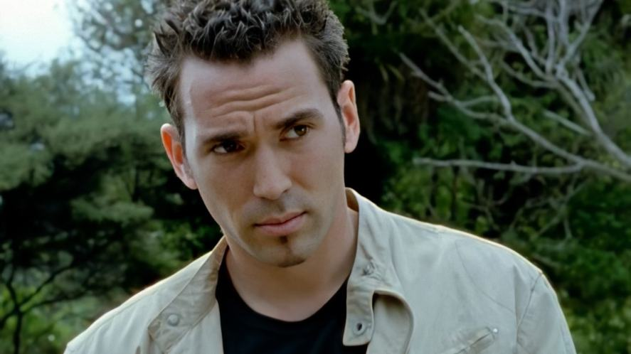 Dr Tommy Oliver in a scene from Power Rangers Dino Thunder