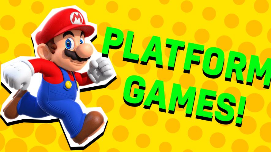 Platform game result
