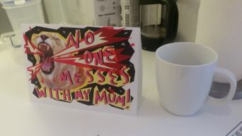 Beano Mother's Day cards