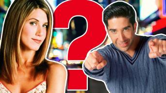 Friends' Rachel Green and Ross Geller
