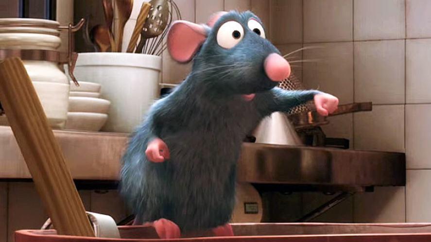 A scene from Ratatouille