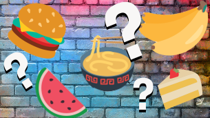 Food emoji quiz thumbnail