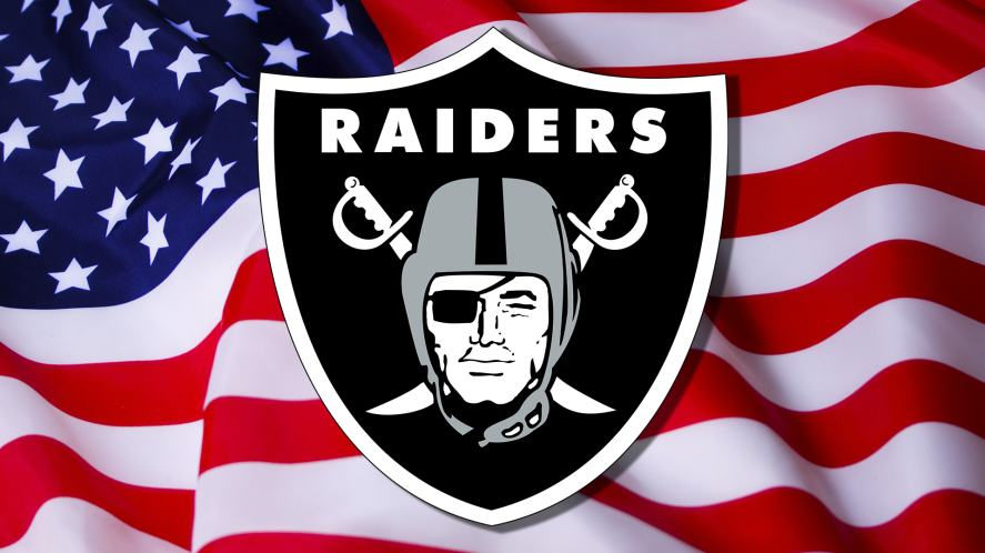 The Raiders badge