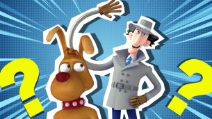 Inspector Gadget and Brain