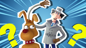 Inspector Gadget and Brain