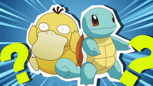 Squirtle and Psyduck Pokemon