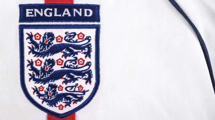 An England football shirt