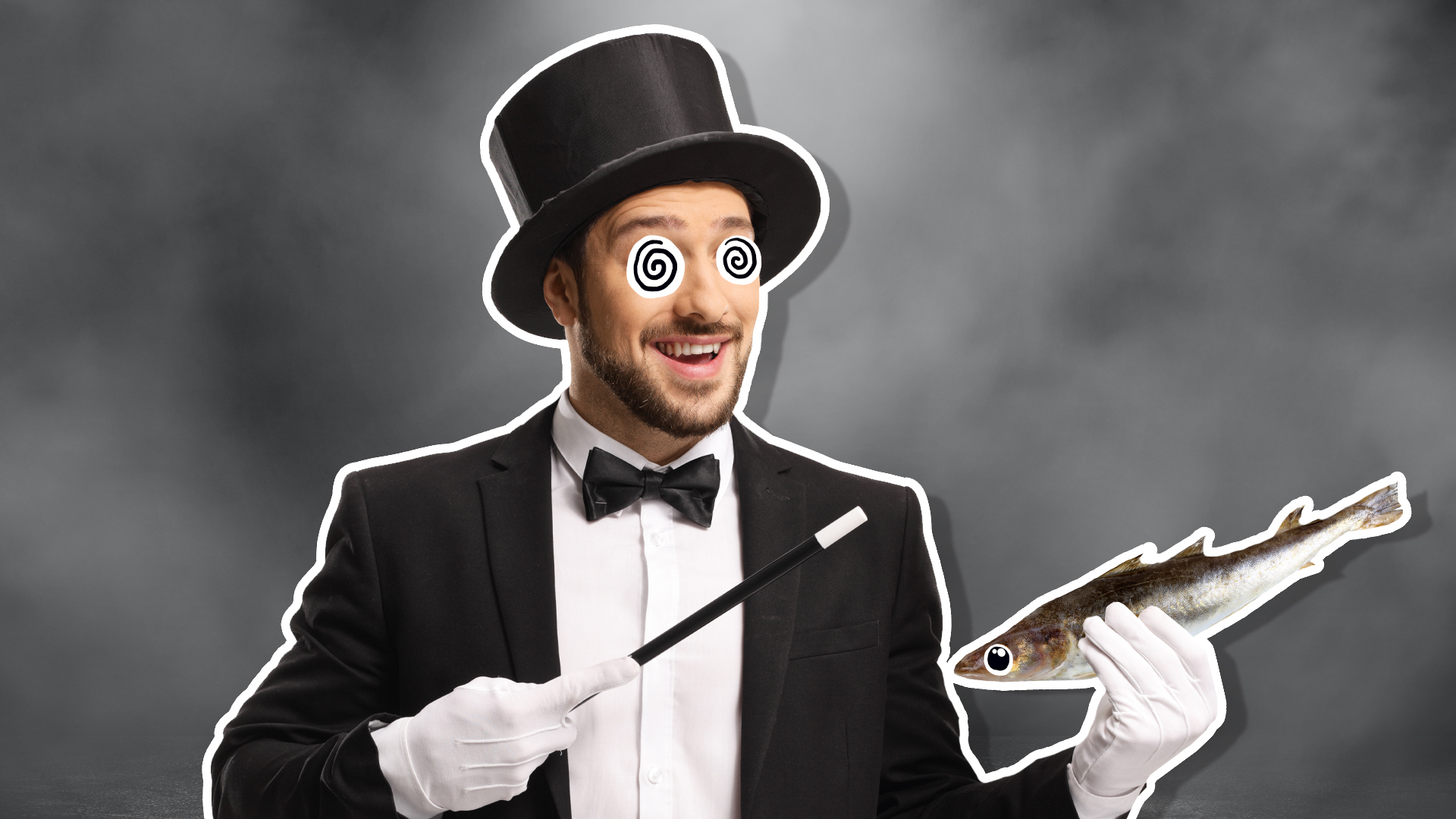 A magician and a fish