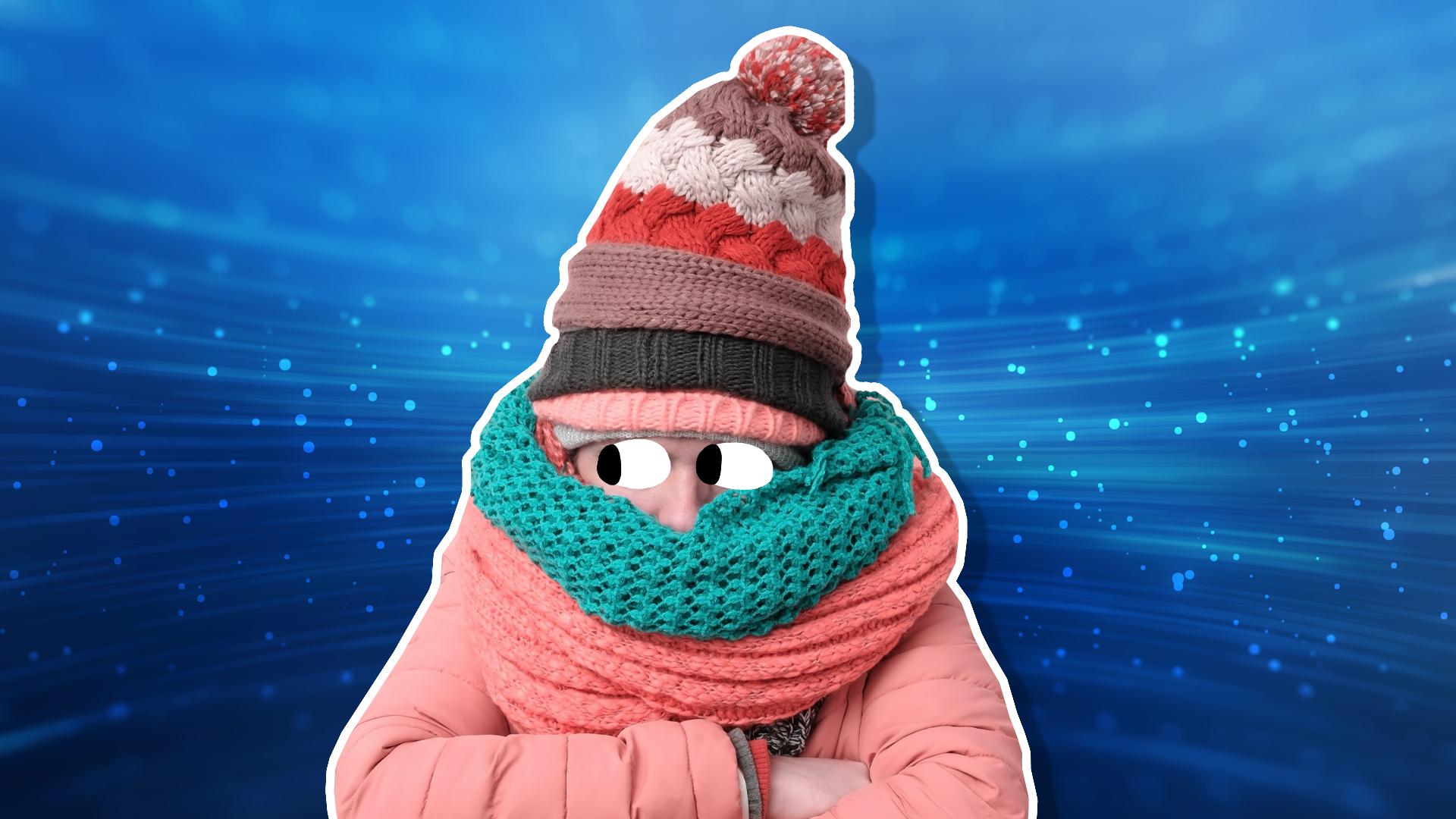 A cold person