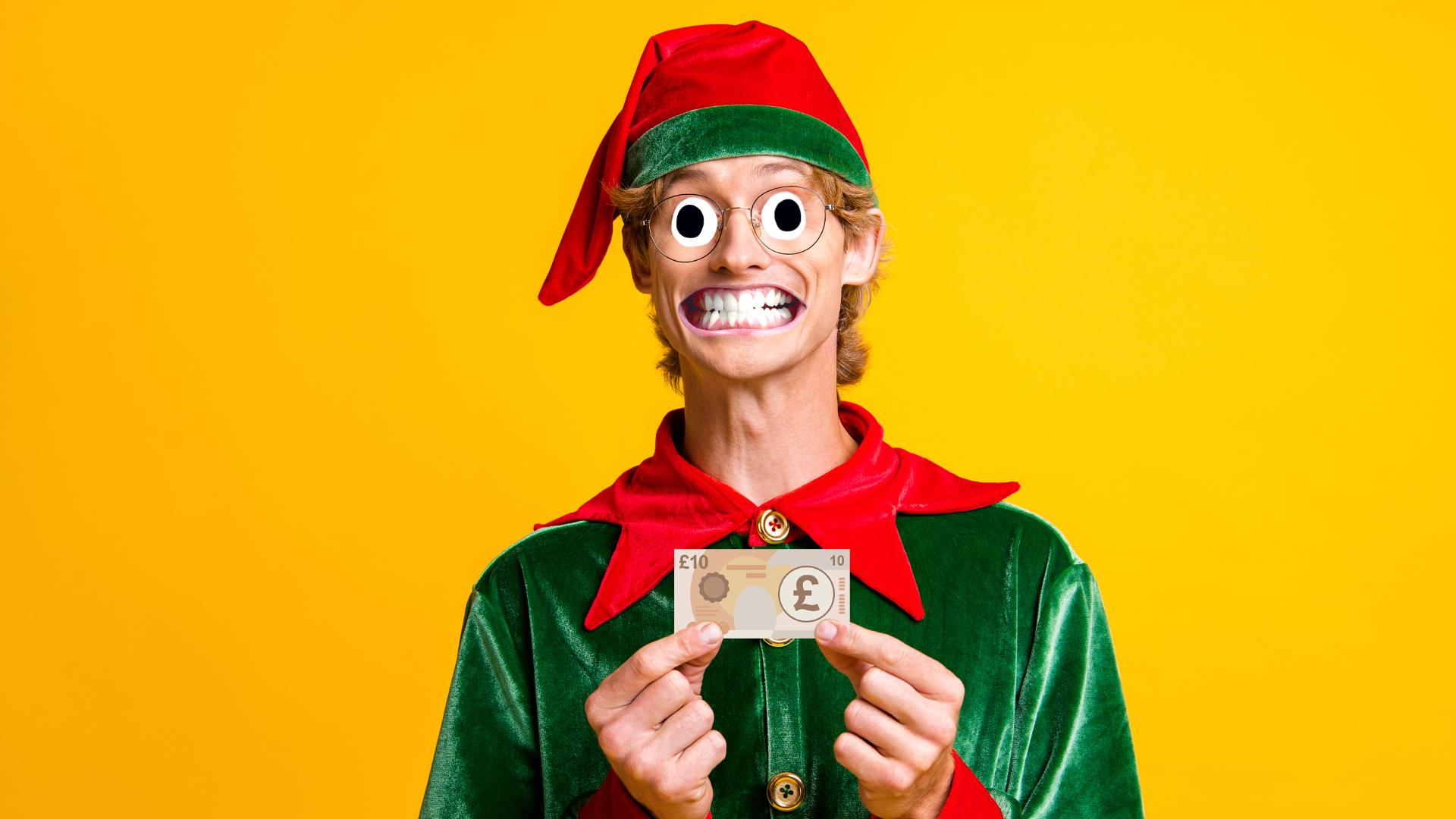 A rich elf