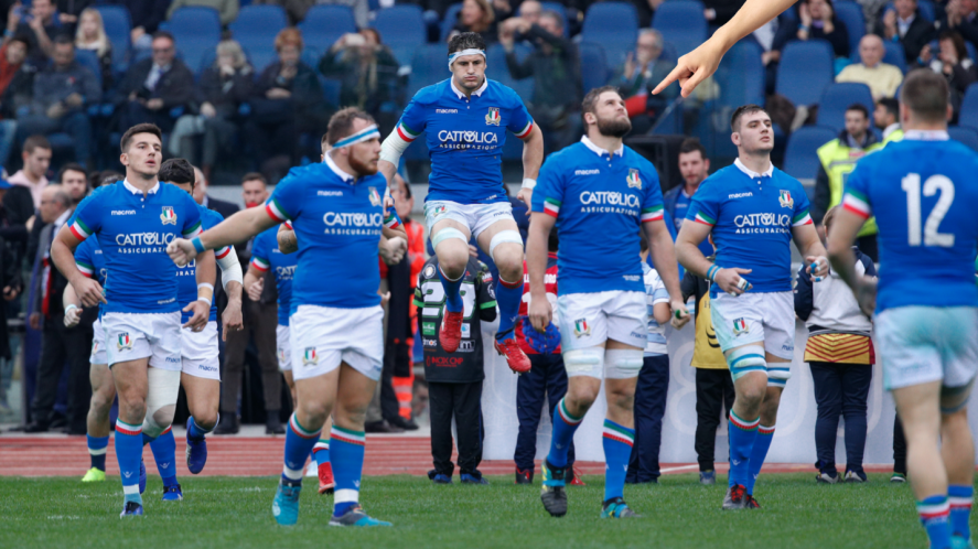 Italy's rugby team