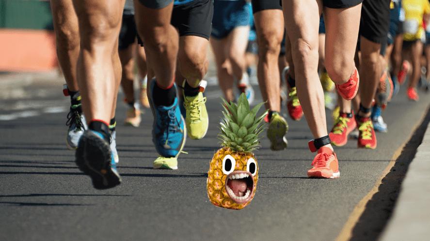 Runners legs running