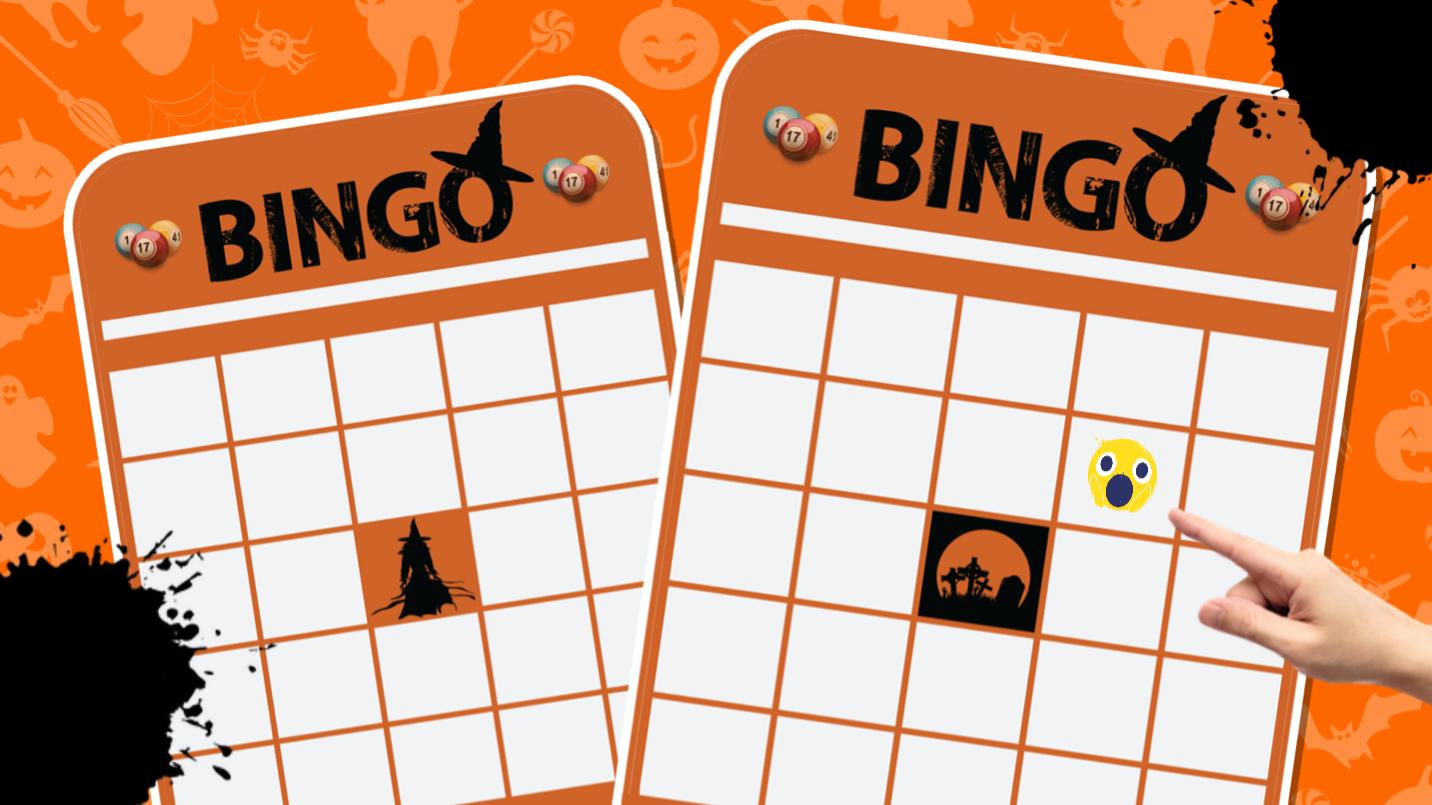 Spooky bingo