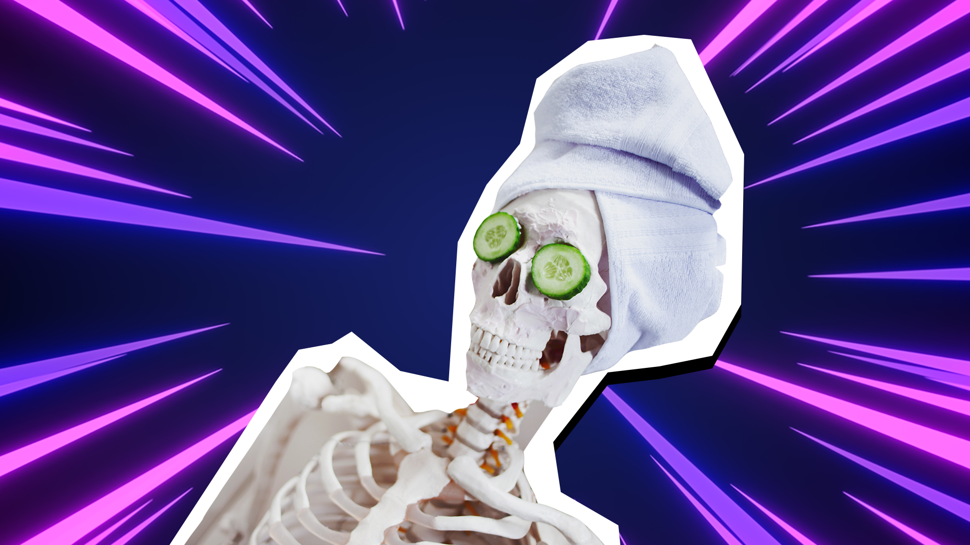 Skeleton contest who beauty won the [Top 40]